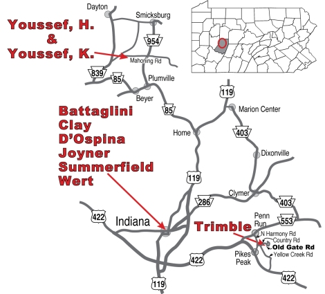 Studio Tour 2011 Map