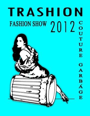 IAC Trashion Fashion Show 2012: Couture Garbage Logo