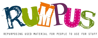 RUMPUS: Repurposing Used Material for People to Use for Stuff