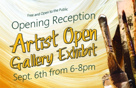 Gallery Exhibit Opening Reception Sept. 6th from 6-8pm at the Artist Hand Gallery in Indiana, PA.