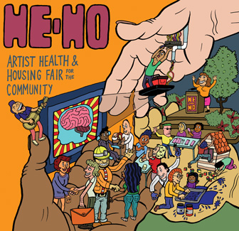 He-Ho Artist Health and Housing Fair for the Community